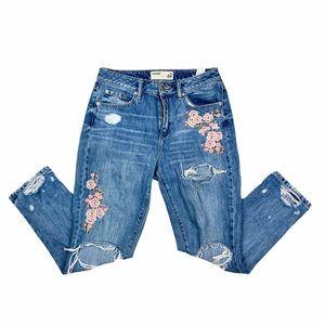 EUC GARAGE Distressed Jeans